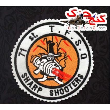 آرم سینه فانتوم گردان 71 SHARP SHOOTERS (دقیق زنها)