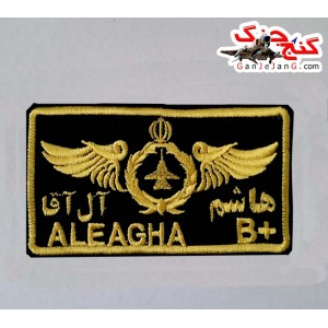 طراحی وینگ خلبانی (اف-14 تامکت) با نام شهید مورد علاقه شما